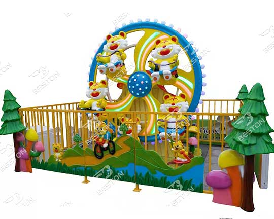 amusement children ride mini HAPPY TIGER ferris wheel manufacturer