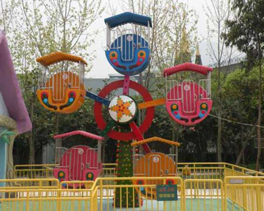 customized amusement children ride mini ferris wheel