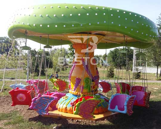 kiddie carnival rides swing flying chairs manufacturers