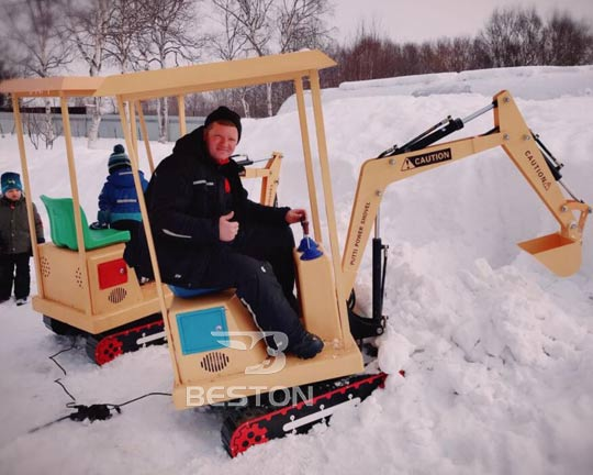 quality kids excavator rides in professional manufacturer