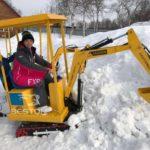 Customer Feedback of Kids Excavator Rides in Russia