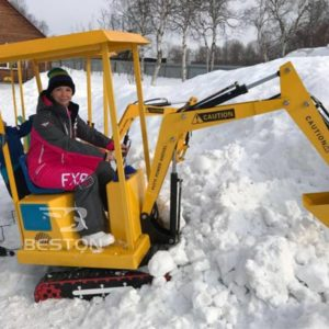 Customer Feedback of Kids Excavator Rides in Russia