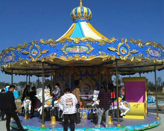 luxury amusement park carousel for sale