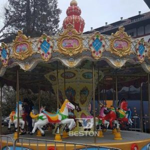 Kiddie Carousel Rides and Mini Ferris Wheel in Romania