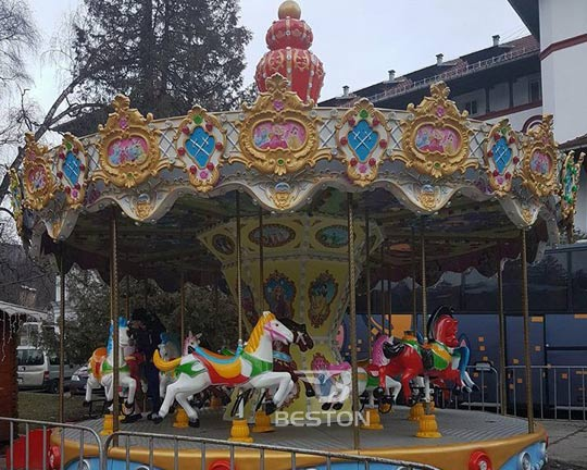 fairground carousel rides prices
