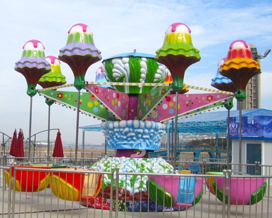 jellyfish miniature amusement park rides
