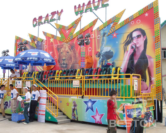 crazy wave amusement rides manufacturer