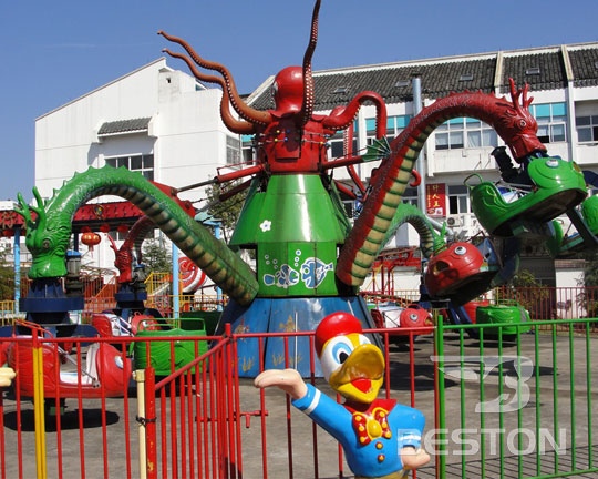 hot sale rotary octopus fairground rides