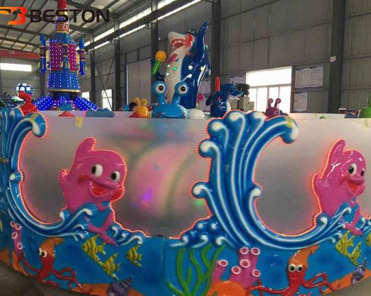 fiberglass Ocean Singer Spray Ball Ride Materials